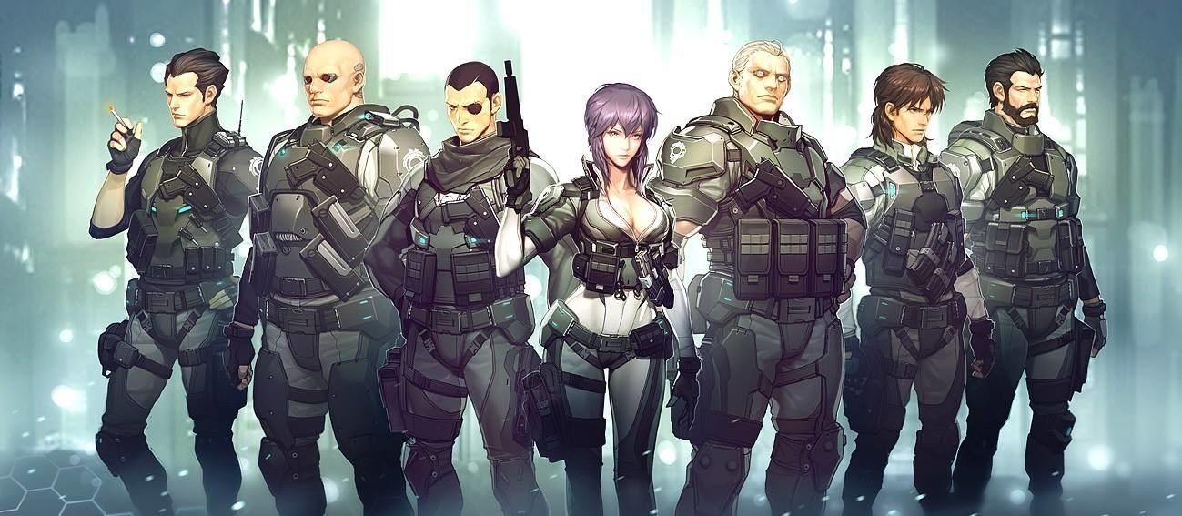 Krok po kroku – Ghost in the Shell