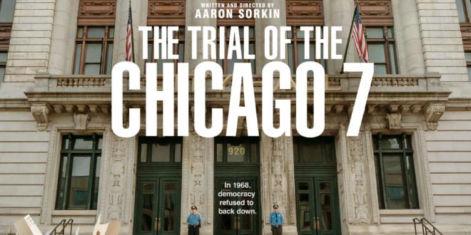 Proces Siódemki z Chicago – zostaną tylko symboliczne obrazki [recenzja]