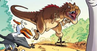 Dinozaury w komiksie – o prehistorycznych gadach z humorem [recenzja]